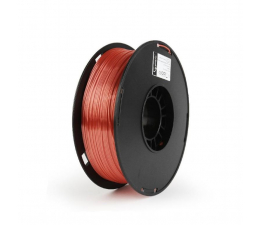 Filament do drukarki 3D Gembird Polymer Glossy Silk Red 1kg