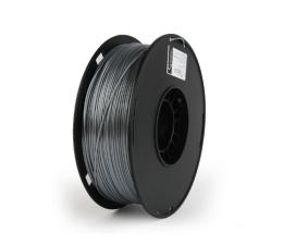 Filament do drukarki 3D Gembird Polymer Glossy Silk Silver 1kg