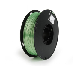 Filament do drukarki 3D Gembird Polymer Glossy Silk Green 1kg