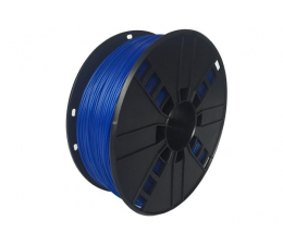 Filament do drukarki 3D Gembird TPE Flexible Blue 1kg