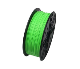 Filament do drukarki 3D Gembird PLA Fluorescent Green 1kg