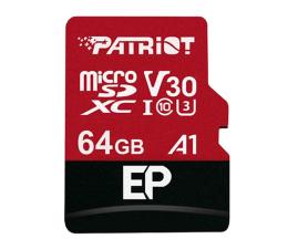 Karta pamięci microSD Patriot 64GB EP microSDXC 100/80MB (odczyt/zapis)