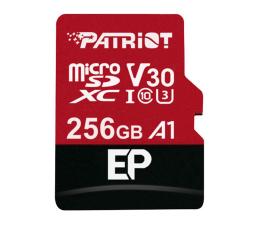 Karta pamięci microSD Patriot 256GB EP microSDXC 100/80MB (odczyt/zapis)