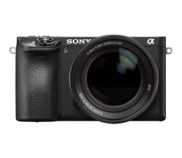Bezlusterkowiec Sony ILCE A6500 + 18-105mm czarny