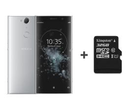 Smartfon / Telefon Sony Xperia XA2 Plus H4413 4/32GB DS srebrny + 32GB
