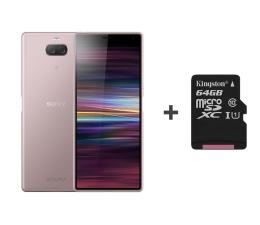 Smartfon / Telefon Sony Xperia 10 I4113 3/64GB Dual SIM różowy + 64GB
