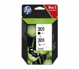 Tusz do drukarki HP 301 + 301 (BK+CMY)