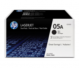 Toner do drukarki HP HP 05A CE505D 2x2300s 2szt