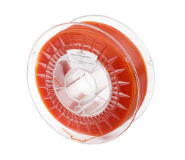 Filament do drukarki 3D Spectrum PETG Transparent Orange 1kg