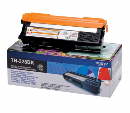 Toner do drukarki Brother TN328BK black 6000str.