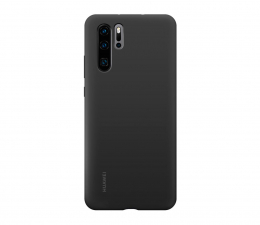 Etui/obudowa na smartfona Huawei Silicone Case do Huawei P30 Pro czarny