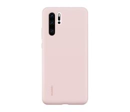 Etui/obudowa na smartfona Huawei Silicone Case do Huawei P30 Pro różowy