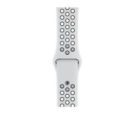 Pasek / bransoletka Apple Pasek Sportowy Nike do Apple Watch czysta platyna