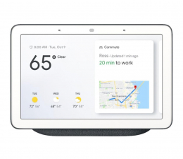 Inteligentny głośnik Google Home Hub czarny