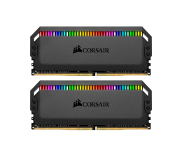 Pamięć RAM DDR4 Corsair 32GB 3200MHz Dominator PLATINUM RGB CL16 (2x16GB)