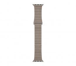 Pasek/bransoletka Apple Opaska skórzana piaskowa koperty 44 mm L