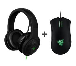 Słuchawki przewodowe Razer Kraken Essential + Deathadder Expert/Essential