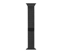 Pasek / bransoletka Apple Bransoleta mediolańska czarna do koperty 44 mm