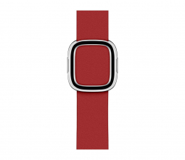 Pasek / bransoletka Apple Pasek z Klamrą Nowoczesną do Apple Watch rubinowy