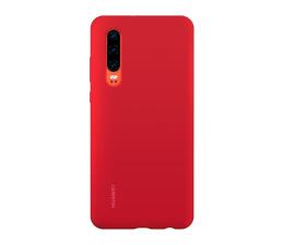 Etui/obudowa na smartfona Huawei Silicone Case do Huawei P30 czerwony