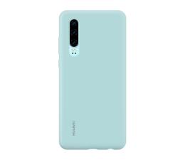 Etui/obudowa na smartfona Huawei Silicone Case do Huawei P30 jasny niebieski