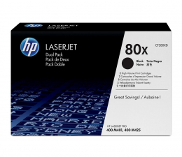Toner do drukarki HP HP 80X CF280XD 2szt