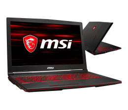 "Notebook / Laptop 15,6"" MSI GL63 i7-8750H/16GB/240+1TB GTX1660Ti"