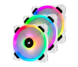 Wentylator do komputera Corsair LL120 RGB White Triple Fan Kit + Lighting Node PRO