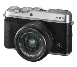 Bezlusterkowiec Fujifilm X-E3 15-45mm f/3.5-5.6 OIS PZ srebrny