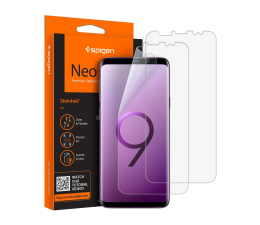 Folia/szkło na smartfon Spigen Neo Flex HD Case Friendly do Samsung Galaxy S9+