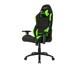 Fotel gamingowy AKRACING Gaming Chair (Czarno-Zielony)