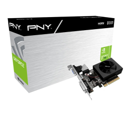Karta graficzna NVIDIA PNY GeForce GT 730 Low Profile 2GB DDR3