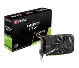 Karta graficzna NVIDIA MSI GeForce GTX 1650 AERO ITX OC 4GB GDDR5