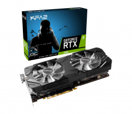 Karta graficzna NVIDIA KFA2 GeForce RTX 2080 EX 1-Click OC GE 8GB GDDR6