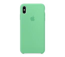 Etui / obudowa na smartfona Apple iPhone XS max Silicone miętowe