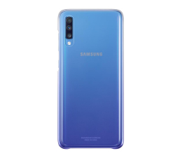 Etui/obudowa na smartfona Samsung Gradation cover do Galaxy A70 fioletowe