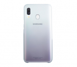 Etui/obudowa na smartfona Samsung Gradation cover do Galaxy A40 czarne