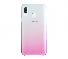 Etui/obudowa na smartfona Samsung Gradation cover do Galaxy A40 różowy