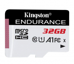Karta pamięci microSD Kingston 32GB High Endurance 95/30 MB/s (odczyt/zapis)