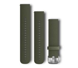 Pasek / bransoletka Garmin Pasek silikonowy zielony do koperty 20mm