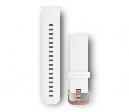 Pasek / bransoletka Garmin Pasek silikonowy biały do koperty 20mm