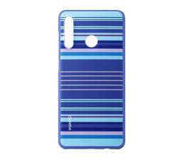 Etui/obudowa na smartfona Huawei Plecki Dekoracyjne do Huawei P30 Lite Blue Line