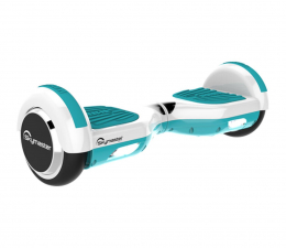 """Hoverboard Skymaster Smart Dual 6"""" biało-miętowa + Aplikacja"""