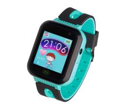 Smartwatch dla dziecka Garett Kids Fine 2019 czarno-zielony