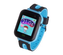 Smartwatch dla dziecka Garett Kids Fine 2019 czarno-niebieski