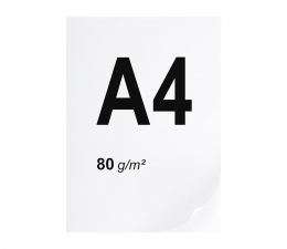 Papier do drukarki A4 ryza 500 szt. 80g/m