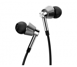 Słuchawki przewodowe 1more  E1001 Triple Driver Srebrne
