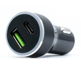 Ładowarka do smartfonów Silver Monkey Ładowarka samochodowa USB-C, 3A, PD, QC 3.0
