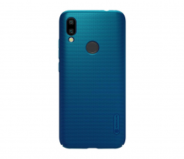 Etui/obudowa na smartfona Nillkin Super Frosted Shield do Xiaomi Redmi Note 7 Blue