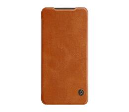 Etui/obudowa na smartfona Nillkin Etui Skórzane Qin do Xiaomi Mi 9 brązowy